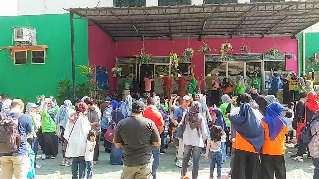 Rekatkan Relasi Dalam Keluarga Dengan Permainan Tradisional Paud Islam Cikal Harapan 2 Bsd Gelar Cho 2019 Depoedu Com